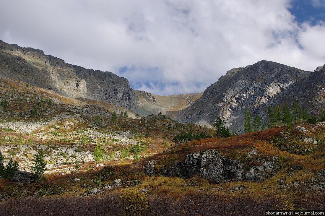 долина Каракольских озёр осенью Алтай фото