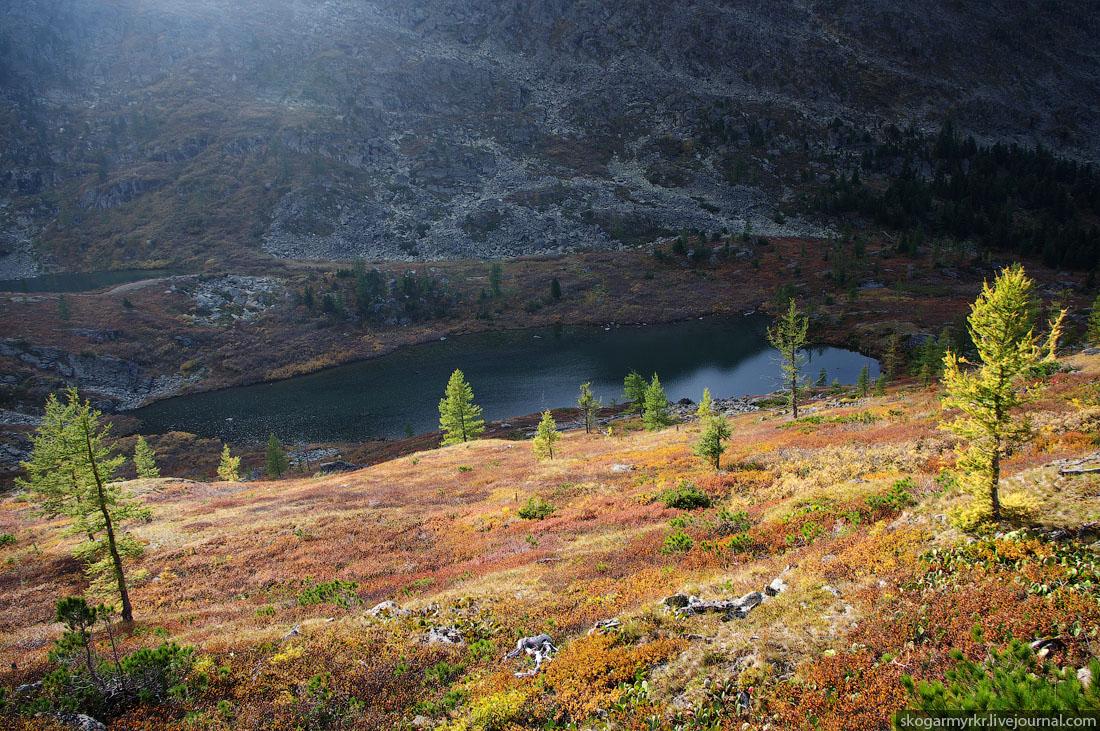Каракольские озёра осенью Алтай фото