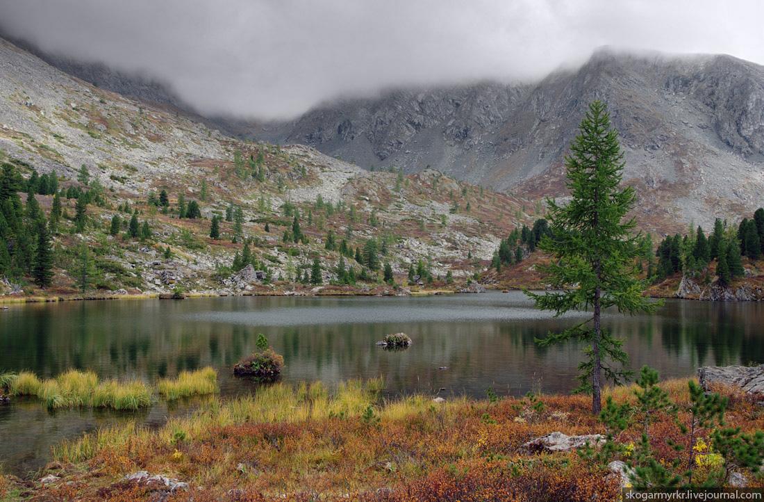 четвёртое Каракольское озеро Багаташ Озёрный Белок Алтай фото