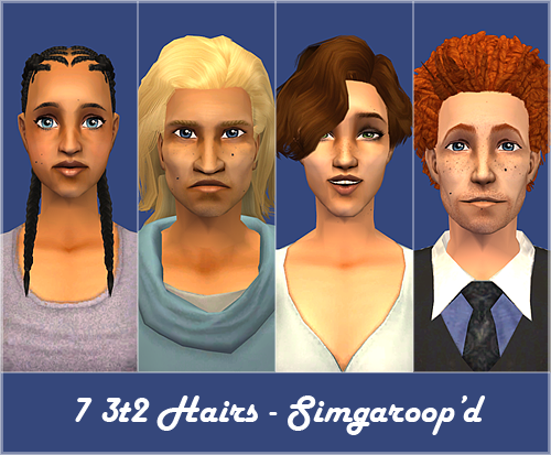 7 3t2 Hairs - Simgaroop'd