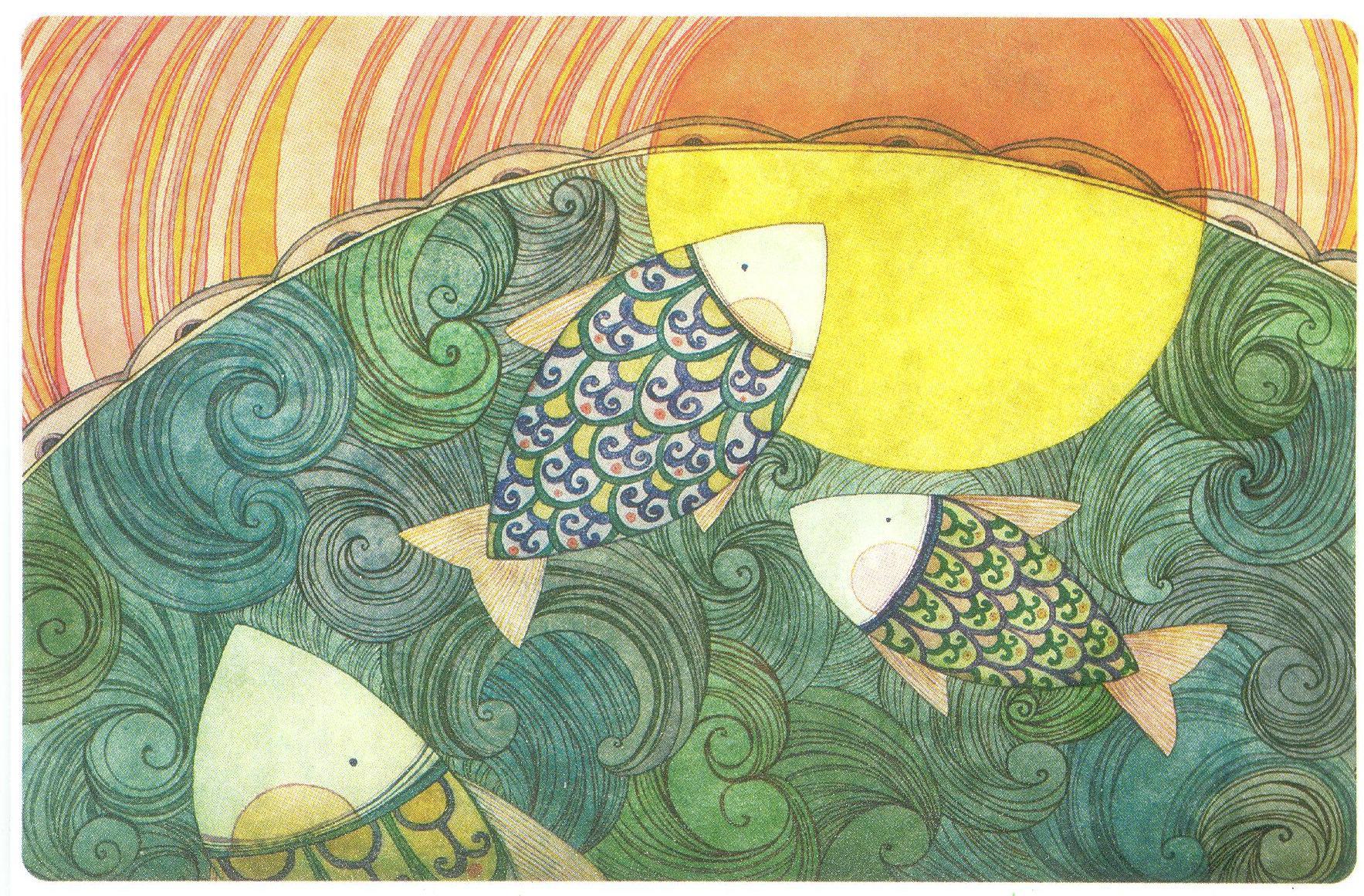 1 обмен (рисунки Наны Деменковой) + 1 лотерея (дельфины) 3