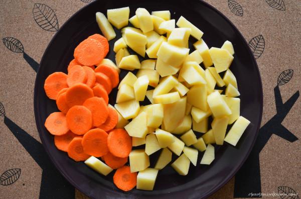 Морковка и картошка