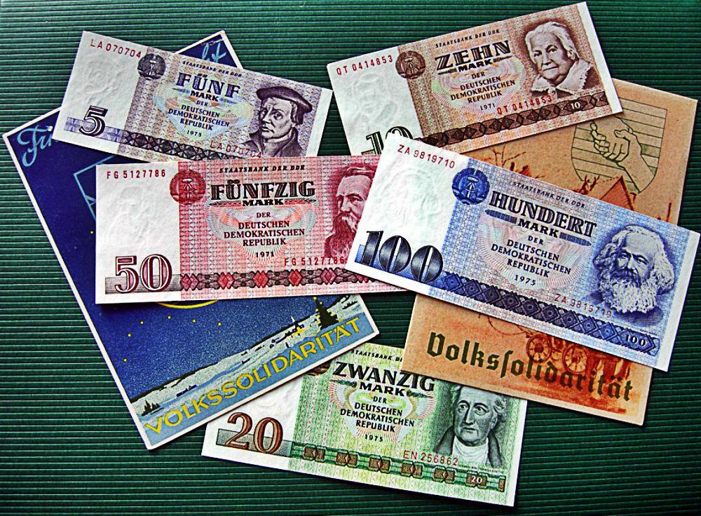 ГДР. Деньги