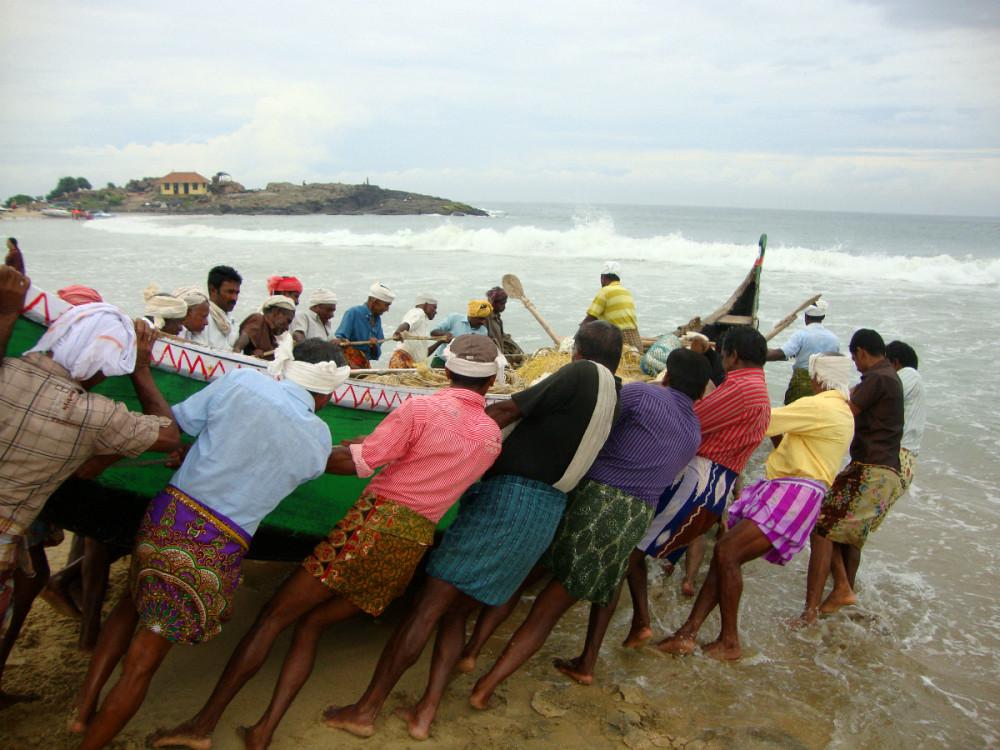 Индия. Рыбаки