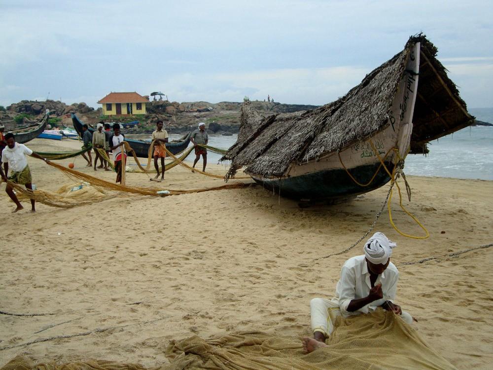 Индия. Рыбаки2