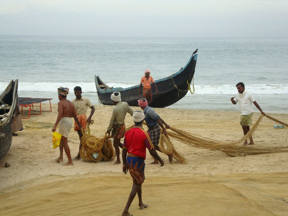 Индия. Рыбаки4