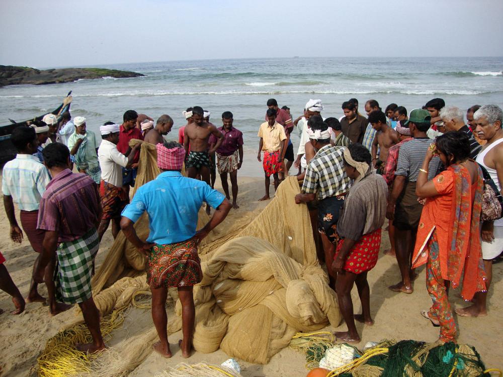 Индия. Рыбаки30