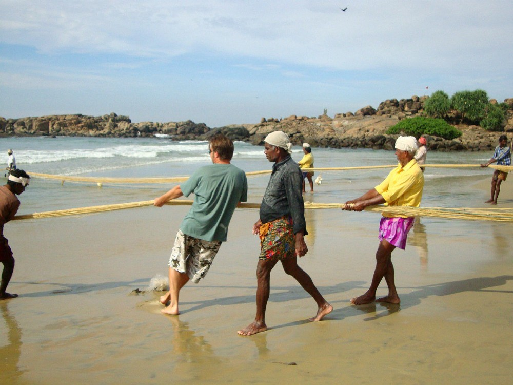 Индия. Рыбаки--