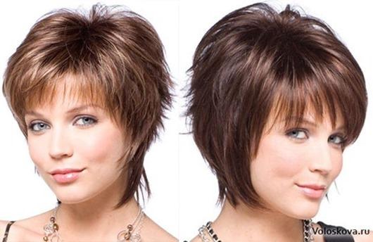 Прическа каскад на короткие волос