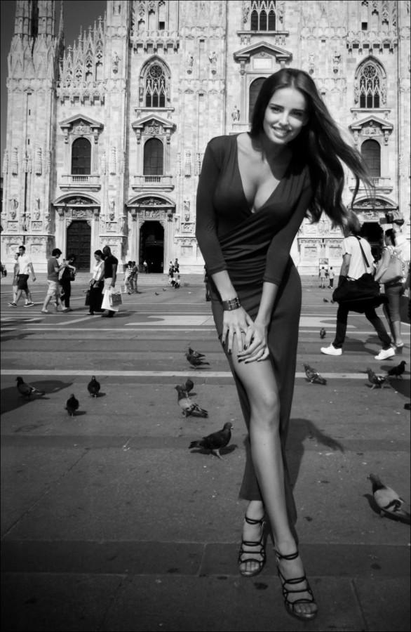 Черно фотографии девушек