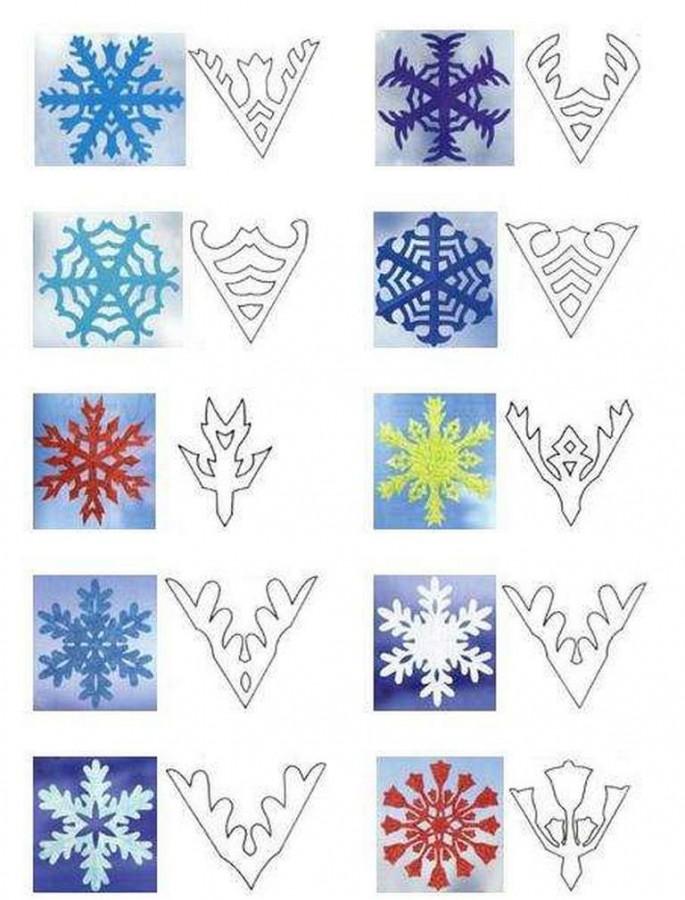 Вырезаем снежинки своими руками: skrust