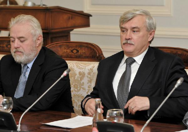 Дивинский и Полтавченко