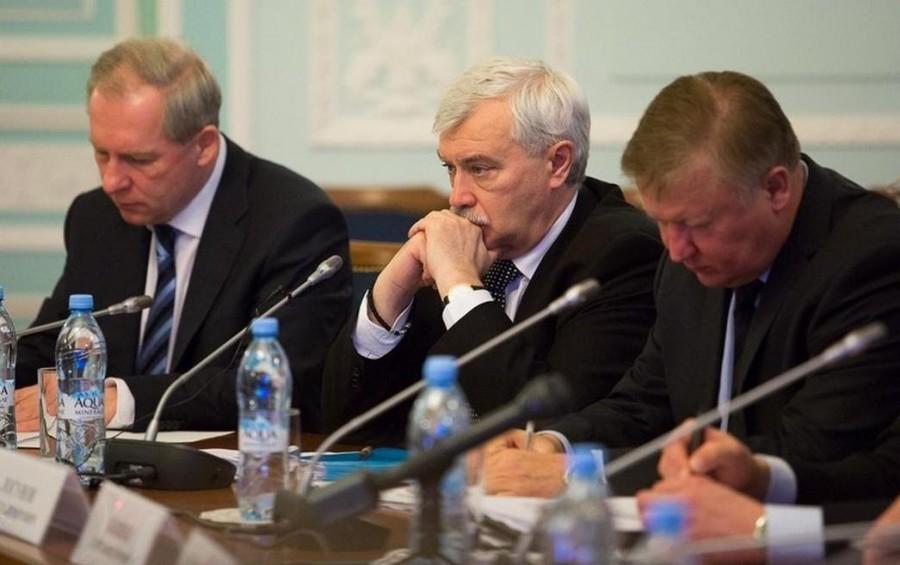 Севриков, Полтавченко и Логунов