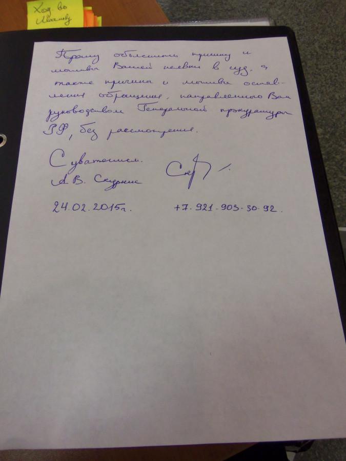 Ход-во Зыбкину 2 стр.