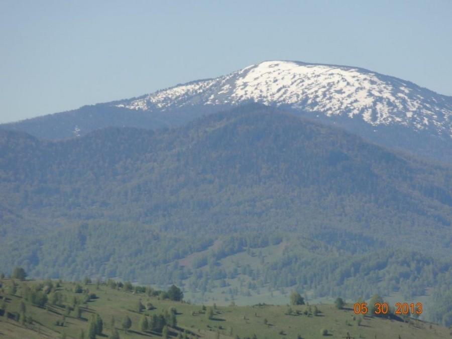 Гора на горизонте