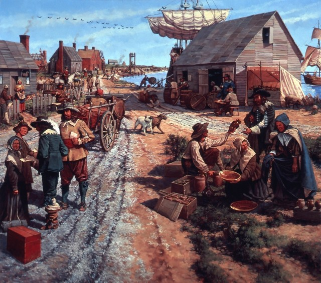 a history of jamestown in the american colonization era