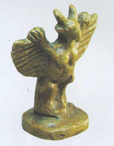 Шатар, Ладья - Птица Гаруда (Тува)