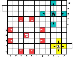 Шахматы Тамерлана: ходы