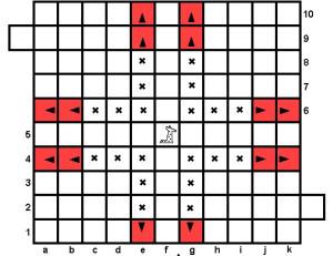 Шахматы Тамерлана: ходы Жирафа