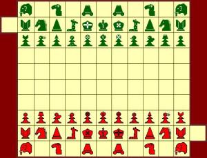 Шахматы Тамерлана: мужская расстановка