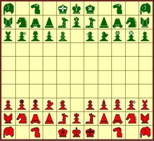 Шахматы Тамерлана - вариант без крепостей