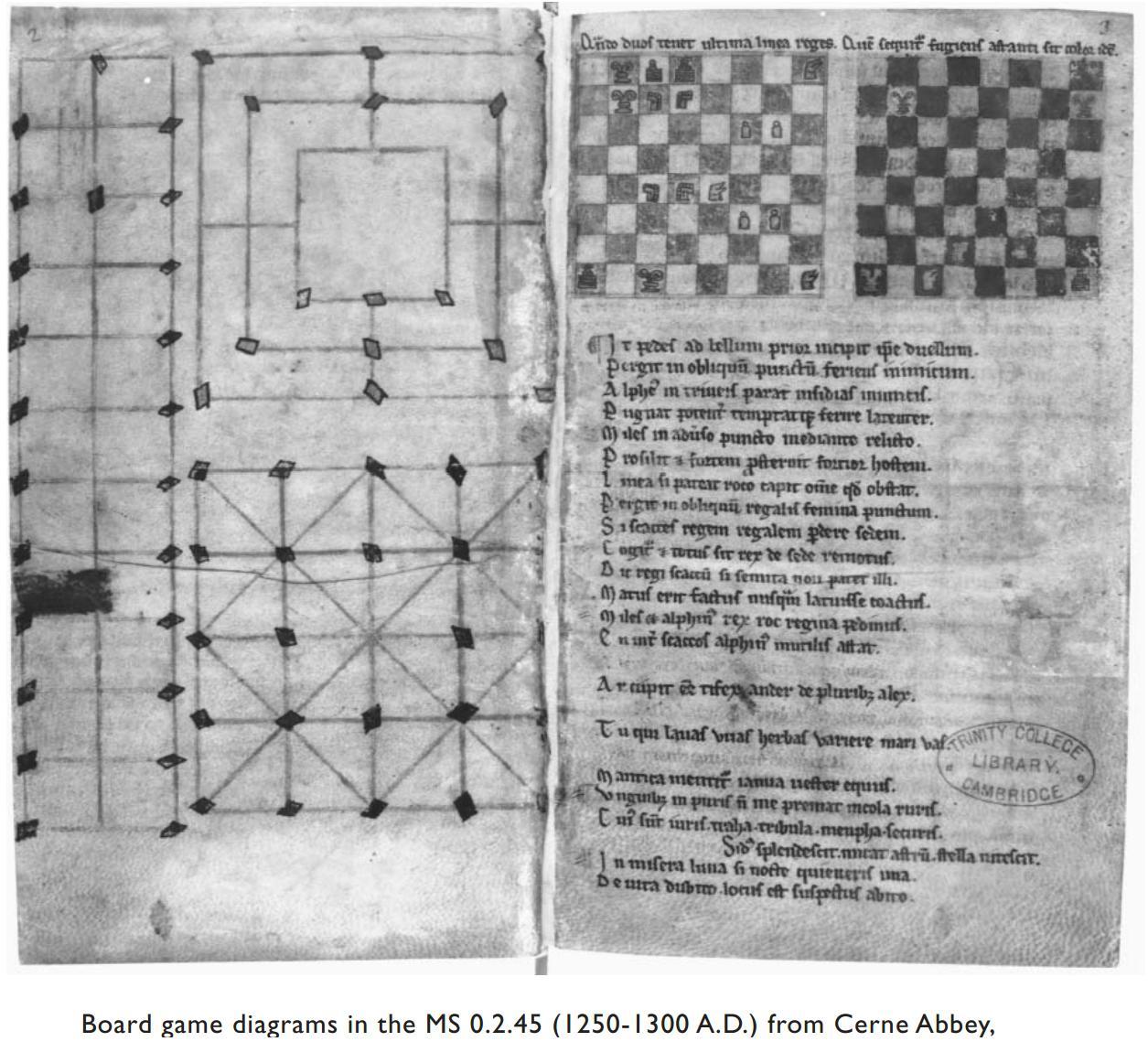 Разворот из манускрипта