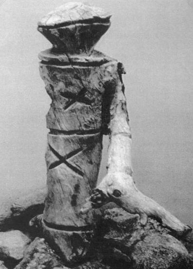 Саамский идол (реконструкция)