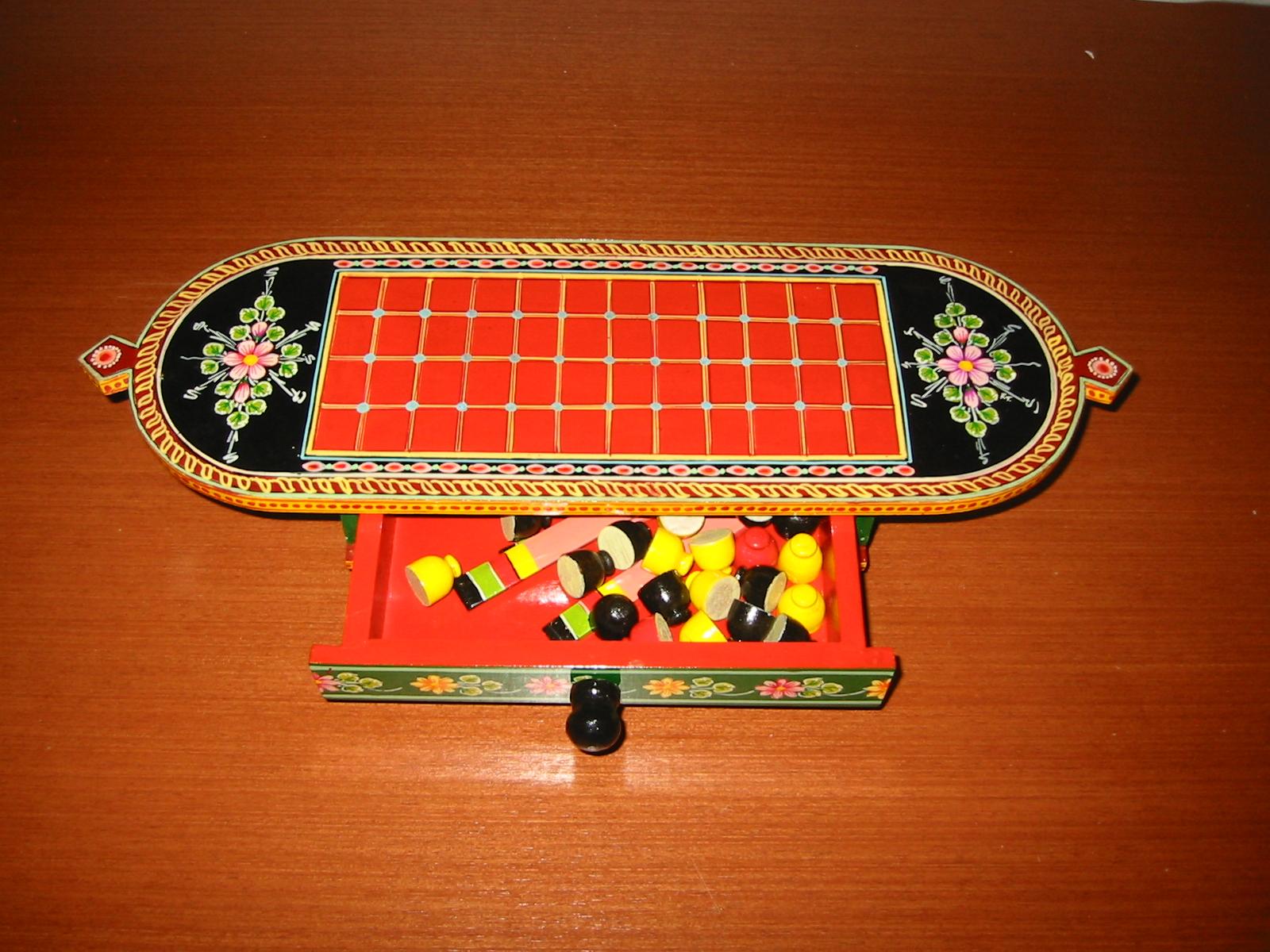 Игровой набор - Таблан и фишки, Индия