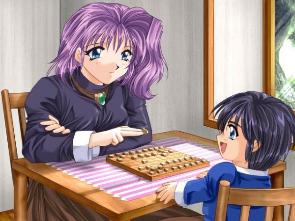 Игра в сёги, анимэ