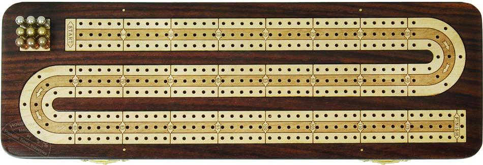 Доска для карточной игры криббедж