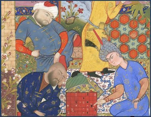 Игра при дворе Багдадского калифа