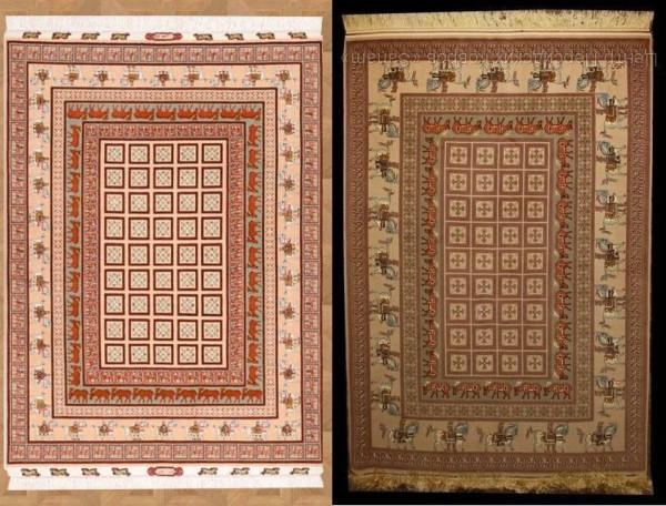 Современные ковры с пазырыкским узором
