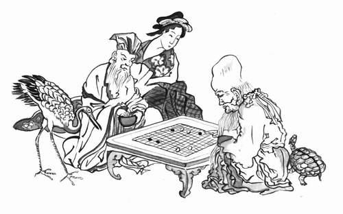 Конфуций и Лао Цзы