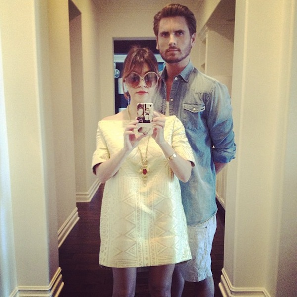 Kourtney-Kardashian-and-Scott-Disick-Selfie