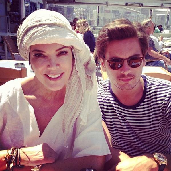 Kourtney-Kardashian-My-Beautiful-Mom-And-My-Handsome-Man