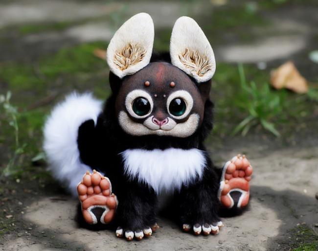 Мягкие игрушки с большими глазами своими руками