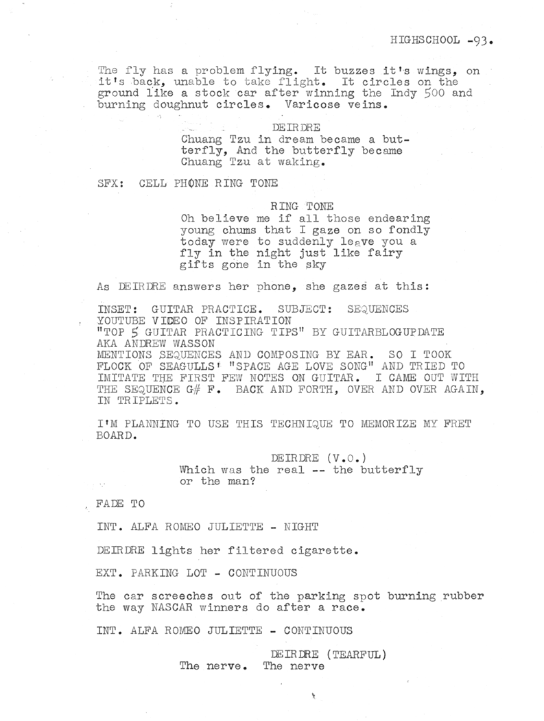 Classic Romeo & Juliette ending