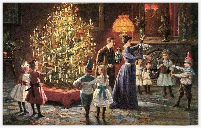 новый год в 19 веке