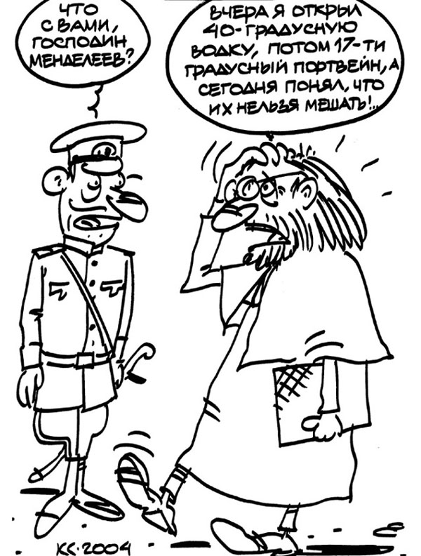 Анекдоты и карикатуры про алкоголь и алконавтов. Часть 1