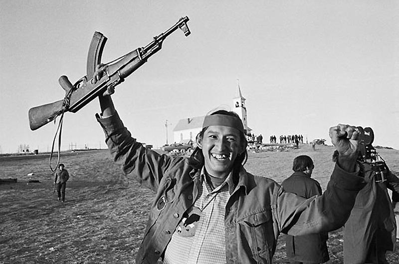Ручей Вундед-Ни, Южная Дакота, США, 1973 год