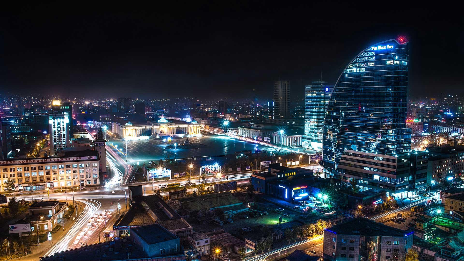Фото столицы монголии