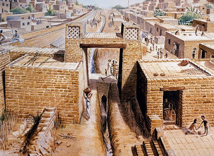 Хараппская город Мохенджо-Даро