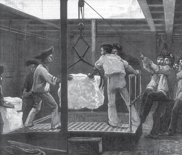 История о том, как британцы импортировали в жаркую Индию лёд из Новой Англии