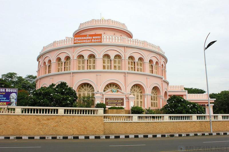 Дом Вивекананда, построенный для хранения льда, в Ченнаи