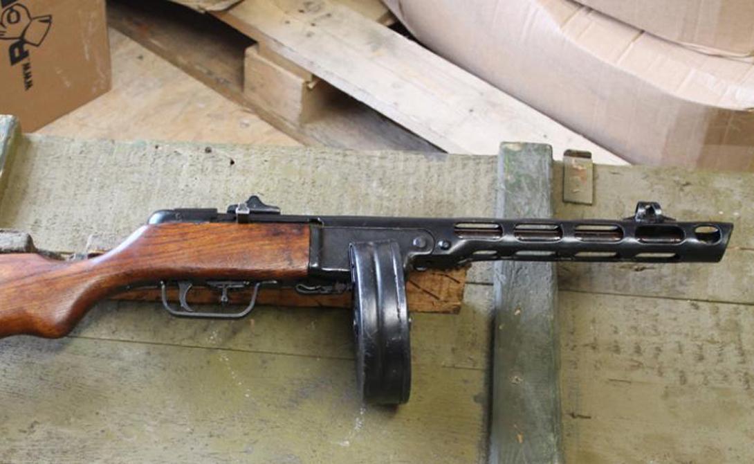 Пистолет-пулемет Шпагина пришел на замену конструкции Дегтярева