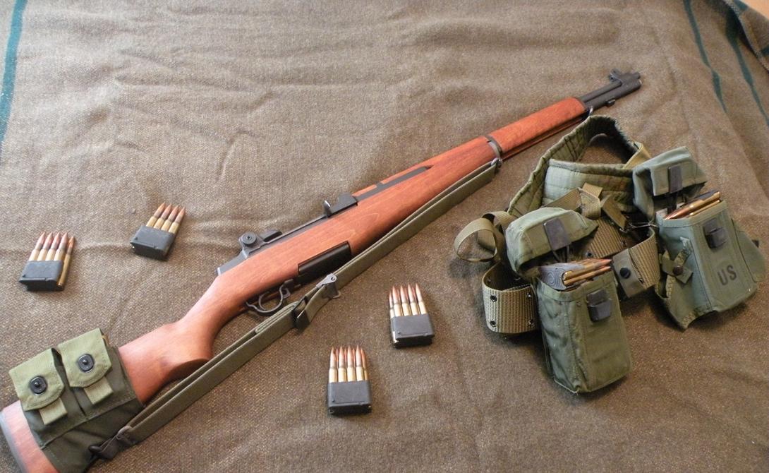 Американская M1 Garand, созданная и Джоном Гарандом