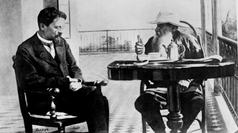 С Львом Толстым в Крыму