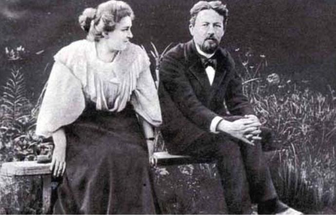 Чехов с постаревшей Ликой Мизиновой спустя 9 лет их странного романа