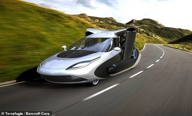 В октябре в США начнут продавать летающие автомобили ynews, будущее близко, инновации, летательный аппарат, летающий автомобиль, летающий аппарат, технологии будущего, электроавто