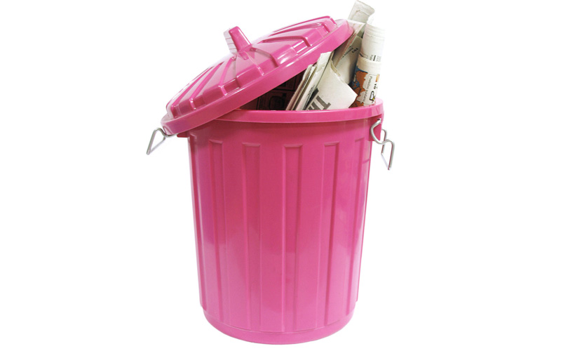 Дезодорация мусорной корзины
